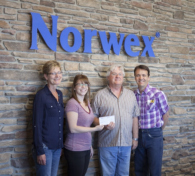 Norwex staff donation